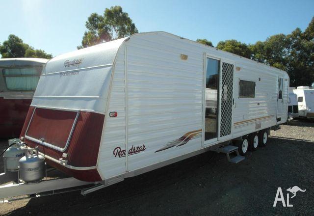 Caravan Roadstar Shower 2 Door Tri Axle For Sale In