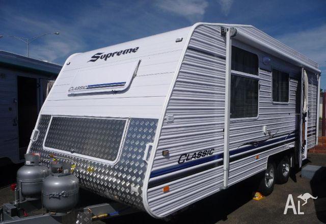 Caravans Supreme Classic 18 For Sale In Sebastopol