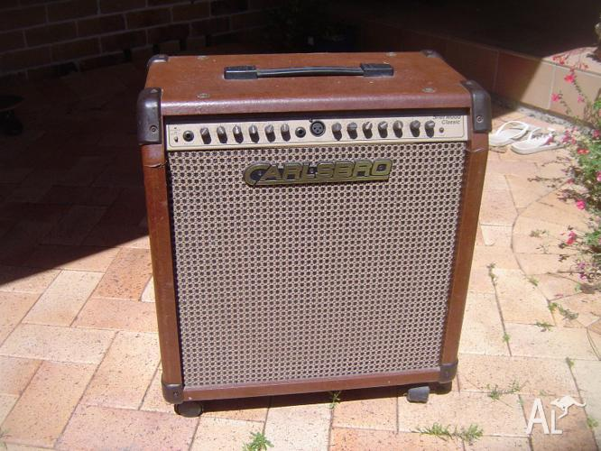 Carlsbro Acoustic Guitar Amp 100w For Sale In Angourie New South
