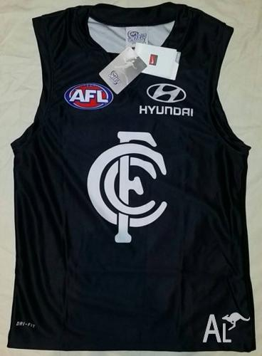 CARLTON BLUES ADULT GUERNSEY-Sleeveless-NEW! M, L &