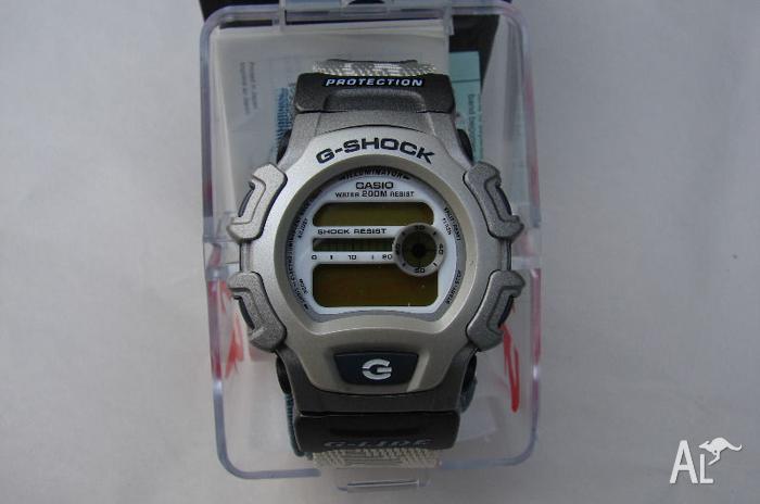 CASIO G-SHOCK G-LIDE Pristine Rare Model: DW-004V-7VT -