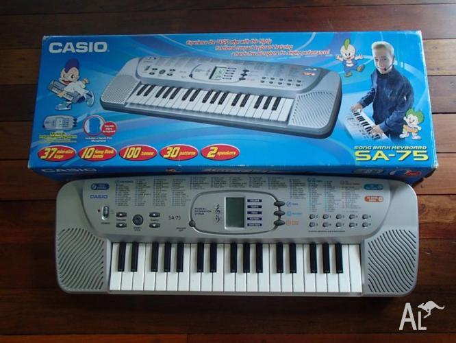 Casio SA-75 Song Bank Keyboard