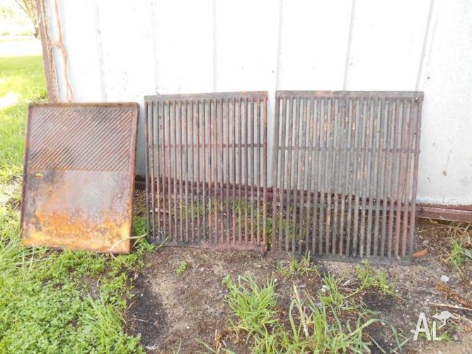 Cast iron bbq plates/grills