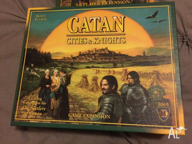 Catan Cities and Knights Board Game with Extension