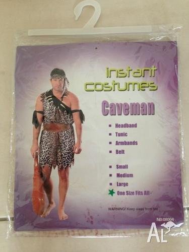 Caveman Halloween costume