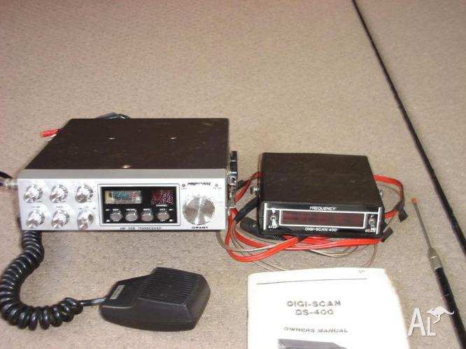 CB Radio 27meg VHF 1200 channels for Sale in GOWRIE, New South Wales