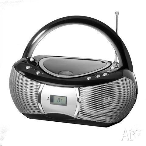 CD - radio player ( stylish black)