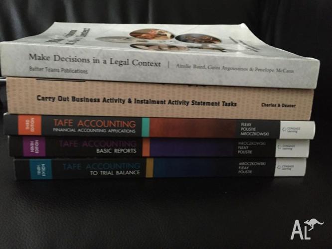Cert IV Accounting Textbooks