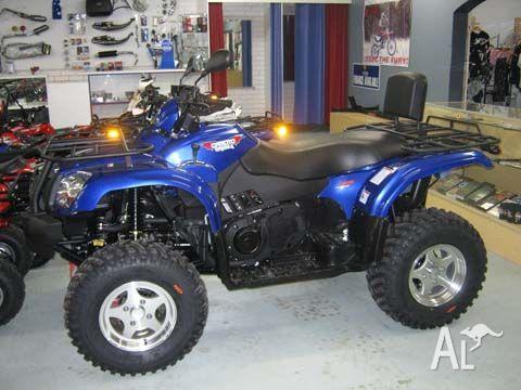 CF MOTO 500 500  2010