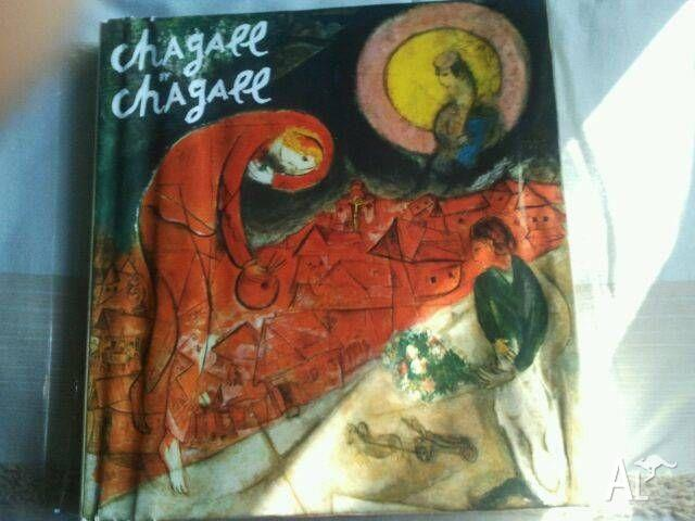 CHAGALL BY CHAGALL - Book of Chagall's visual work and