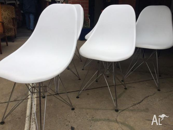 CHAIRS 6,as New,Retro,Vintage,Eames Style Furniture,WE