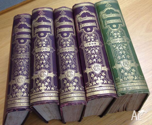 Chambers Journal Antiquarian Book Set of 5 Volumes