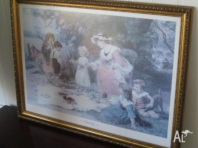Charity Framed Print