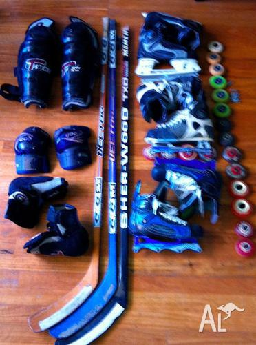 CHEAP HOCKEY GEAR BOTH ROLLER AND ICE!!!!!