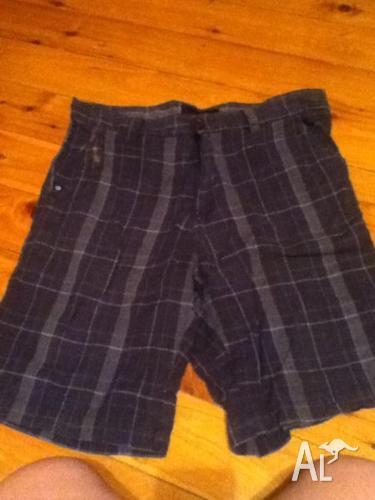 Checkered pants-mens