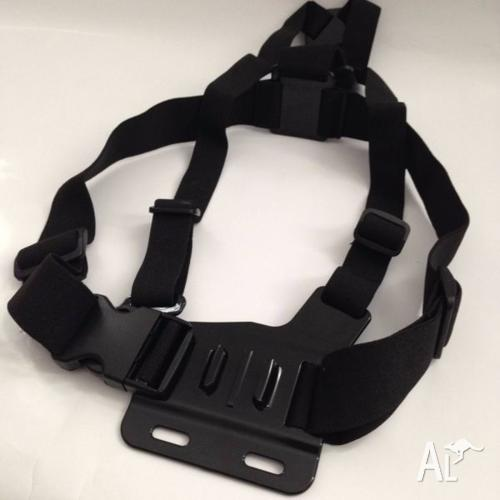 Chest Mount Harness Strap suit GoPro & Kaiser Baas