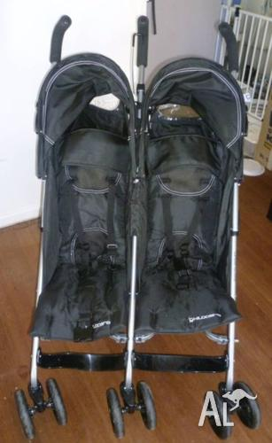 Childcare Double / Twin Stroller