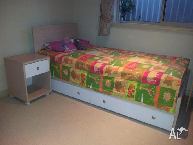 Children Bed and Bed Side Table