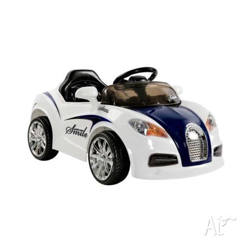Childrens Ride on Car Hours of Fun Good Battery Bugatti