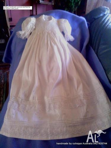 christening gowns whole sale smocked 0427820744