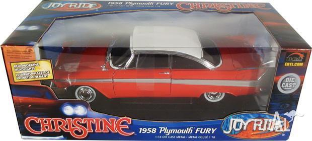 CHRISTINE 58 PLYMOUTH FURY 118 MODEL