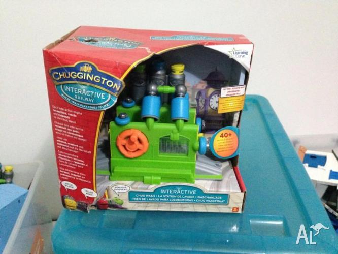CHUGGINGTON INTERACTIVE RAILWAY SETS Wash and Fuel and ... |Chuggington Train Wash