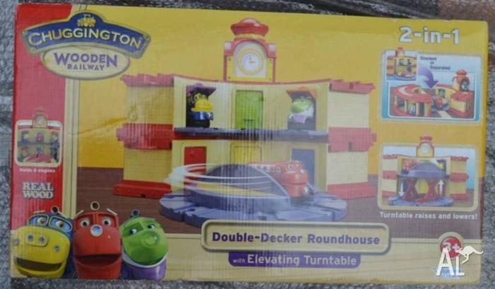 Chuggington Double Decker Roundhouse Wooden New fits