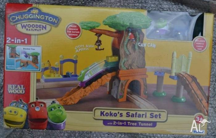 Chuggington Koko's Safari Set wooden - New fits Thomas