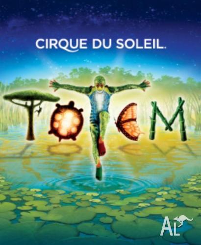 Cirque Du Soleil - TOTEM (Melbourne) - 2x adult, 1x