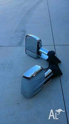 Clearview Towing Mirrors Suit 100 Series Landcruiser