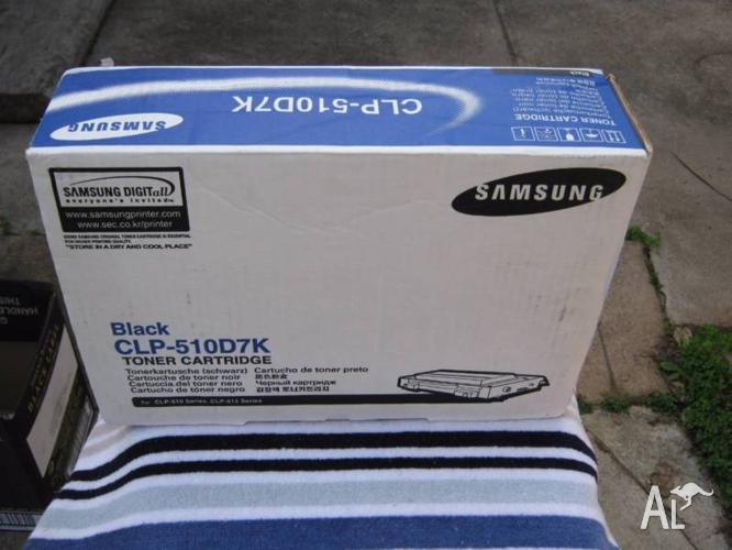 CLP510D5K Black Printer Cartridge