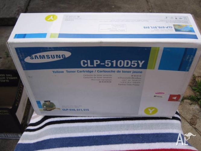CLP510D5Y Samsung Printer cartridge Yellow