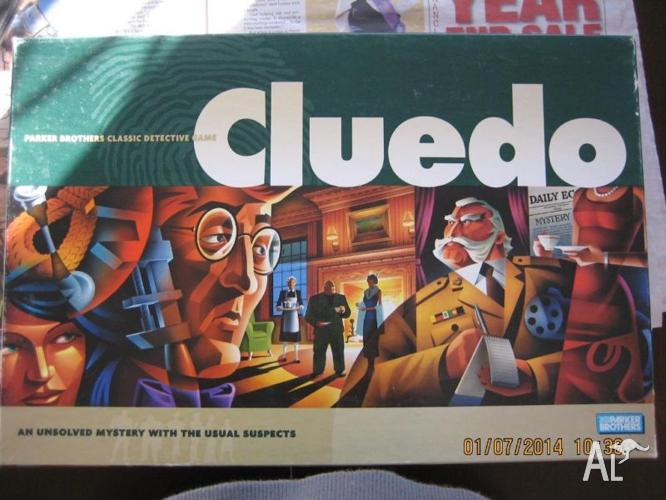 Cluedo - Detective Board game