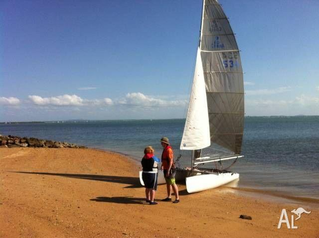 Cobra cat, very good condition, ready to sail,