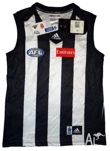 COLLINGWOOD YOUTH/KIDS GUERNSEY-Sleeveless-NEW! Size(