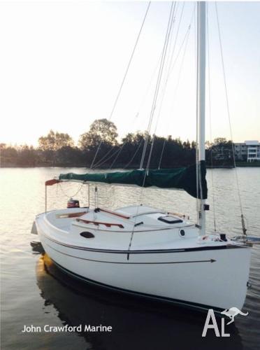 Com-pac Suncat 17 Trailer Sailer for Sale in TINGALPA