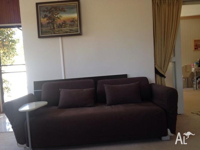 Comfy 3 Seater Ikea Sofa Coffee Table Can Delivery For Sale In
