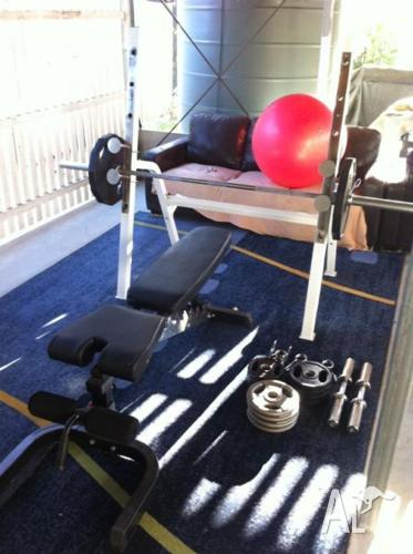 Commercial Grade Home Gym.Only 6 months old & in great
