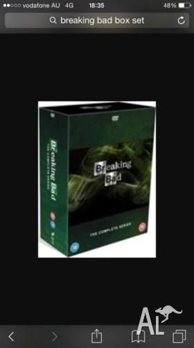COMPLETE Breaking Bad box set