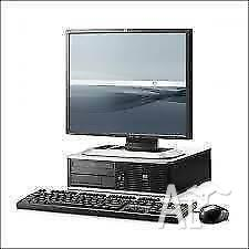 COMPLETE HP CORE 2 DUO E8400 @ 2X3.0 GHZ, 160 GB HD, 2