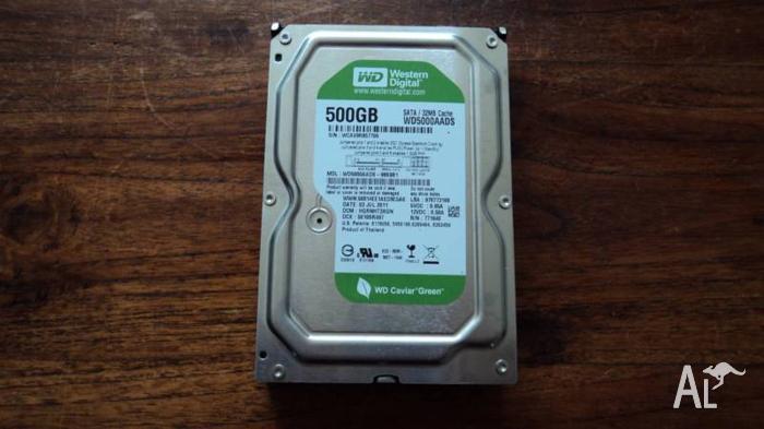 Computer sata hardrive 500 gig good condition 3.5 inch