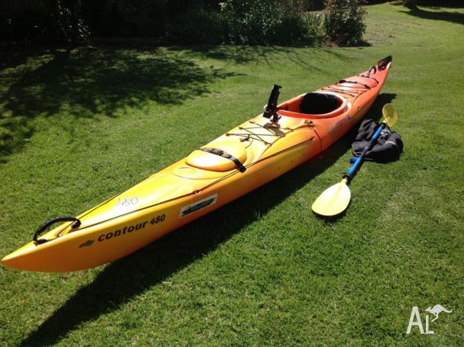 Contour 480 touring Kayak in