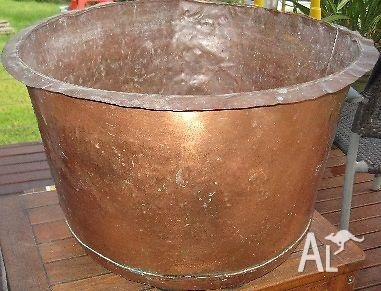 copper laundry tub for sale in upwey victoria classified. Black Bedroom Furniture Sets. Home Design Ideas