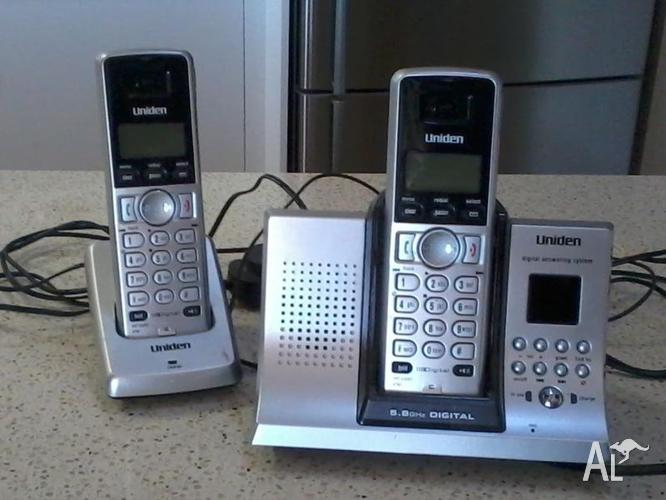 Cordless Phones and Anwsering Machine Uniden