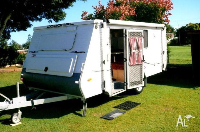 Coromal Excel 453 Pop Top Caravan For Sale In Allandale