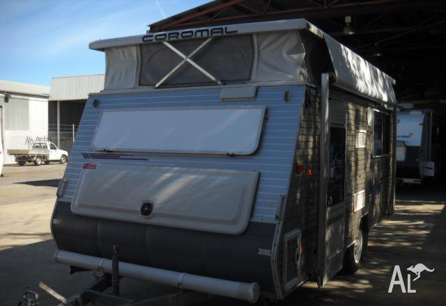 Coromal Mirage 445 XL Air Conditioned Single Beds