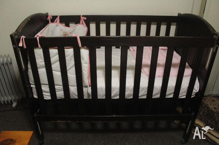 Cot + Mattress for sale