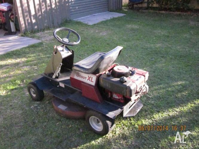 Cox Xl Scout Ride On Mower For Sale In Lemon Tree Passage