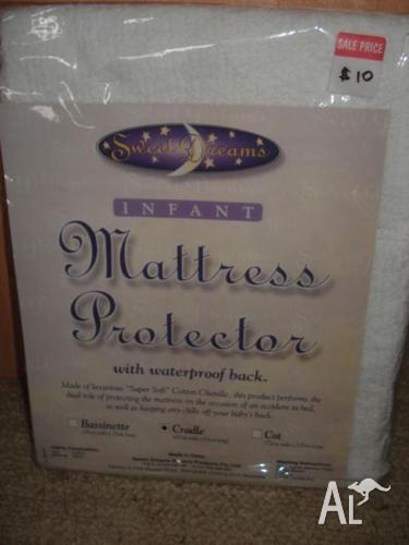 Cradle Mattress Protector (waterproof) - New