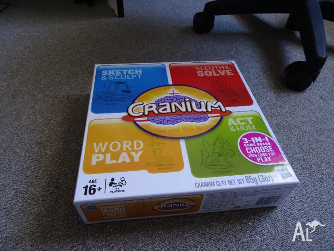 Cranium Board Game - Has only been played once!